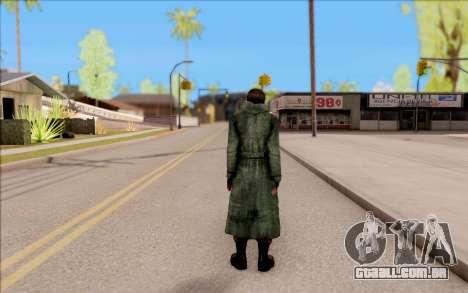 O macho do S. T. A. L. K. E. R. para GTA San Andreas por diante tela