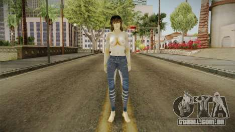 Misa Nude Skin para GTA San Andreas