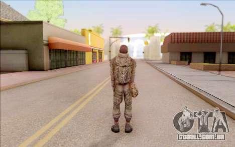 Mole do S. T. A. L. K. E. R. para GTA San Andreas quinto tela