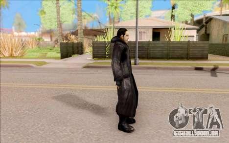 Capitão Sobolev do S. T. A. L. K. E. R. para GTA San Andreas terceira tela