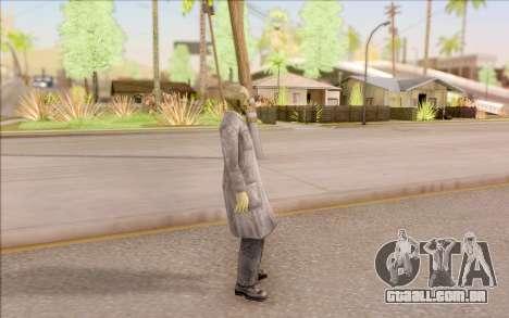 Zombie cientista do S. T. A. L. K. E. R. para GTA San Andreas terceira tela