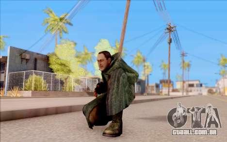 O macho do S. T. A. L. K. E. R. para GTA San Andreas sexta tela