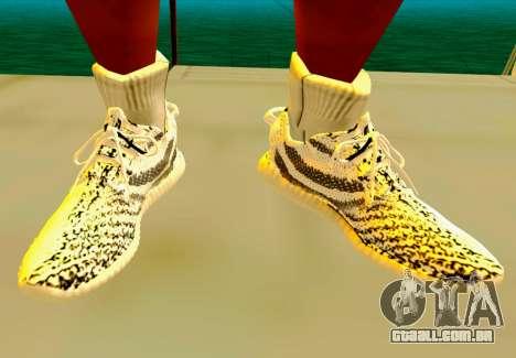 Adidas Yeezy Boost 350 Pack para GTA San Andreas sexta tela