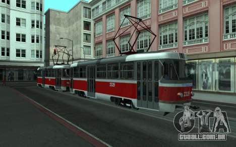2 MTA para GTA San Andreas esquerda vista