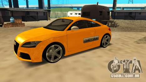Audi TT RS Afonya TV para GTA San Andreas vista traseira