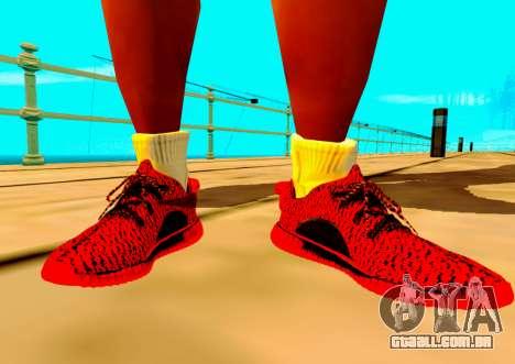 Adidas Yeezy Boost 350 Pack para GTA San Andreas segunda tela