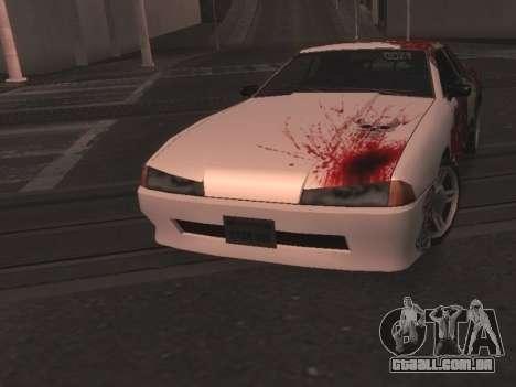 New Elegy Paintjob para GTA San Andreas traseira esquerda vista