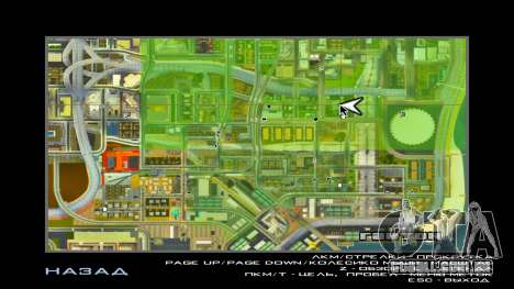 GTA V Radar Icons para GTA San Andreas segunda tela