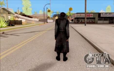 Capitão Sobolev do S. T. A. L. K. E. R. para GTA San Andreas por diante tela