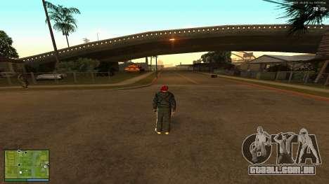 GTA V Radar Icons para GTA San Andreas terceira tela