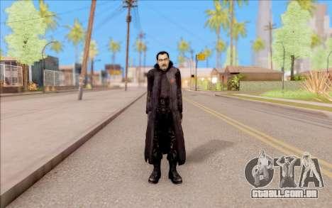 Capitão Sobolev do S. T. A. L. K. E. R. para GTA San Andreas