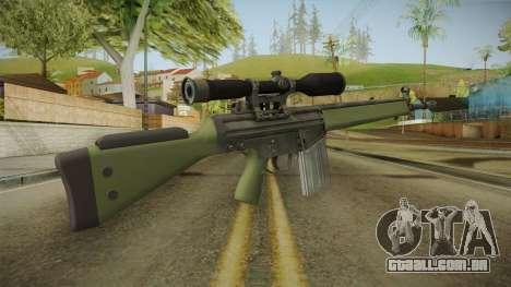 CS-GO - SG1 Sniper Rifle para GTA San Andreas segunda tela