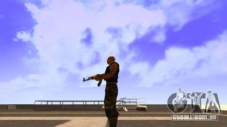 Visualização Do Colete para GTA San Andreas terceira tela