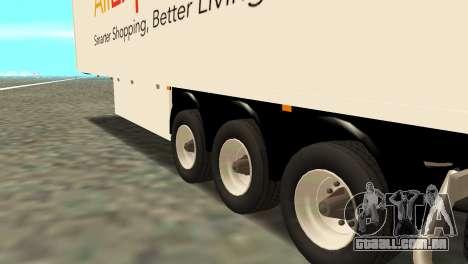 Trailer Aliexpress para GTA San Andreas traseira esquerda vista