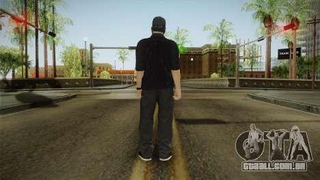 GTA 5 Online Smuggler DLC Skin 1 para GTA San Andreas terceira tela