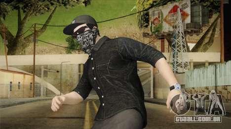 GTA 5 Online Smuggler DLC Skin 1 para GTA San Andreas