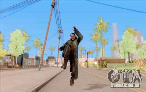 O macho do S. T. A. L. K. E. R. para GTA San Andreas quinto tela