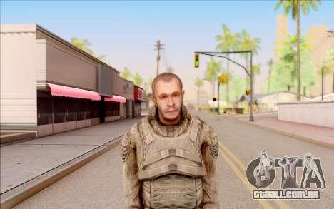 Mole do S. T. A. L. K. E. R. para GTA San Andreas terceira tela