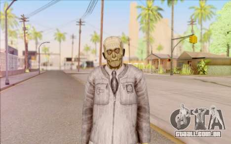 Zombie cientista do S. T. A. L. K. E. R. para GTA San Andreas