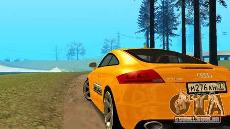 Audi TT RS Afonya TV para GTA San Andreas esquerda vista