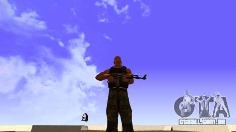 Visualização Do Colete para GTA San Andreas segunda tela