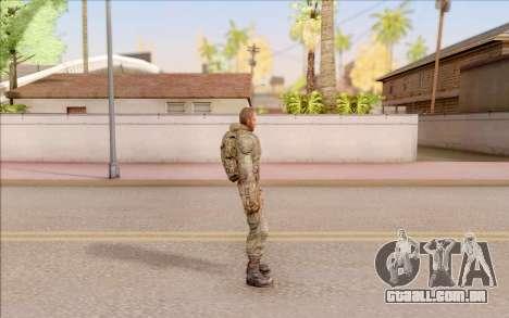 Mole do S. T. A. L. K. E. R. para GTA San Andreas por diante tela