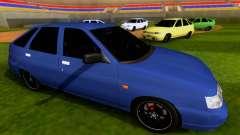 VAZ 2112 SA Plates para GTA San Andreas