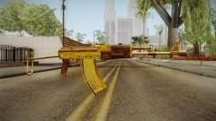 SFPH Playpark - Gold AK47 para GTA San Andreas