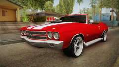 Chevrolet Chevelle SS Cabrio 1970 para GTA San Andreas