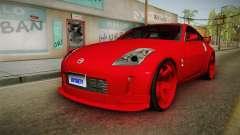 Nissan 350Z coupé para GTA San Andreas