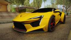 Asphalt 8 - Fenyr SuperSport W Motors para GTA San Andreas