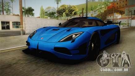 Koenigsegg Agera RS v1 para GTA San Andreas