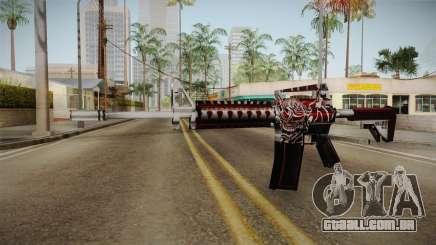 SFPH Playpark - Akuma M4A1 para GTA San Andreas