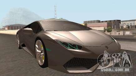 Lamborghini Huracan LP 610-4 SA Plates para GTA San Andreas