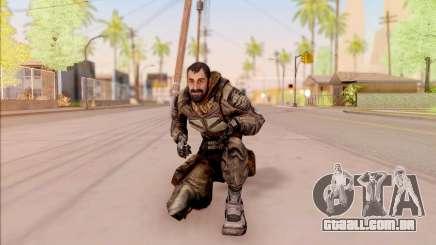Vano do S. T. A. L. K. E. R. de macacão SEVA para GTA San Andreas