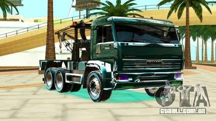 KamAZ 6520 V8 TURBO caminhão de Reboque para GTA San Andreas