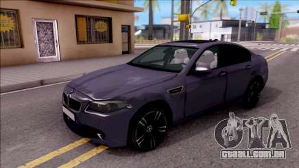 BMW M5 HQ Lowest Poly para GTA San Andreas