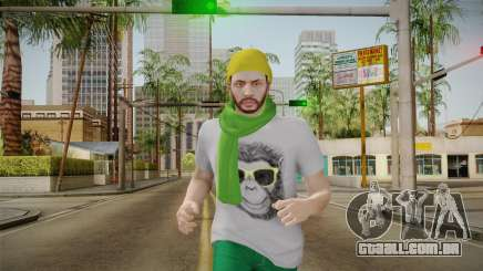 GTA Online - Hipster Skin 2 para GTA San Andreas