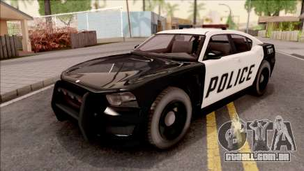 Dodge Charger Police Cruiser Lowest Poly para GTA San Andreas