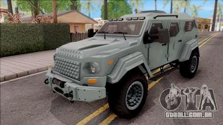 Terradyne Gurkha LAPV para GTA San Andreas