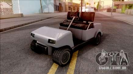 Roofless Civilian Caddy para GTA San Andreas