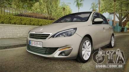 Peugeot 308 2017 para GTA San Andreas