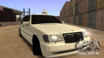 Mercedes-Benz S63 Brabus para GTA San Andreas