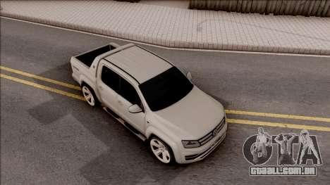 Volkswagen Amarok 4Motion 2017 para GTA San Andreas vista direita