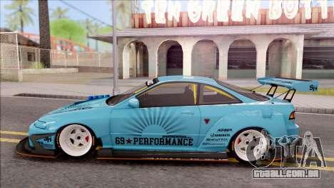 Honda Integra R Integranpa Concept para GTA San Andreas esquerda vista