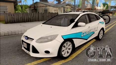 Ford Focus 2013 Flint County Constable Office para GTA San Andreas