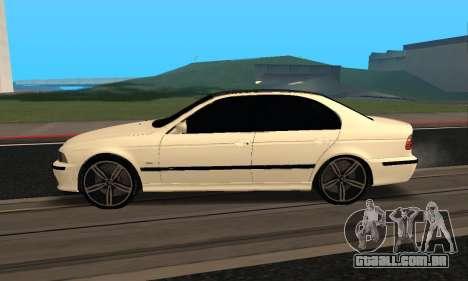 BMW M5 E39 Armenian para GTA San Andreas
