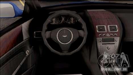 Aston Martin DB9 Drift Style - Drift Handling para GTA San Andreas