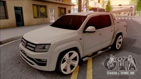 Volkswagen Amarok 4Motion 2017 para GTA San Andreas