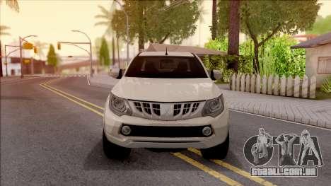 Mitsubishi L200 Triton para GTA San Andreas vista interior